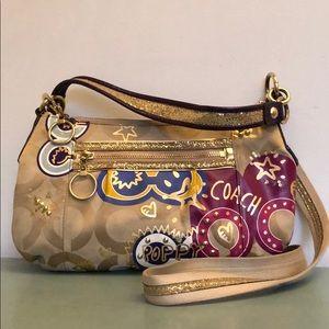 Coach Poppy C Groovy bag 15309